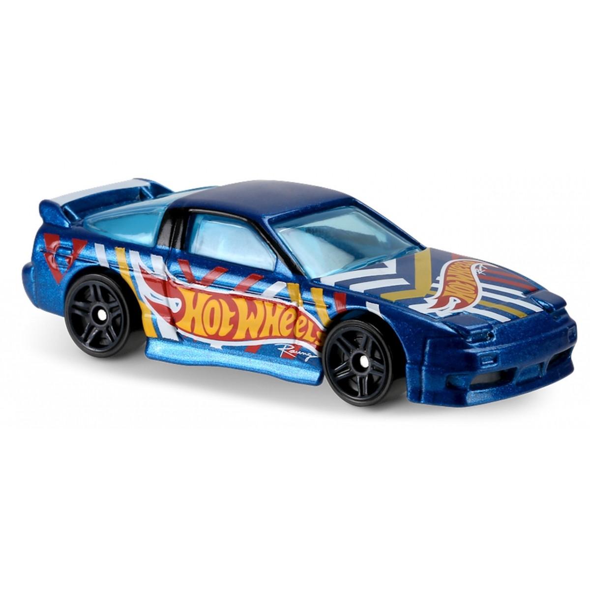 Carrinho Hot Wheels: '96 Nissan 180SX Type X Azul
