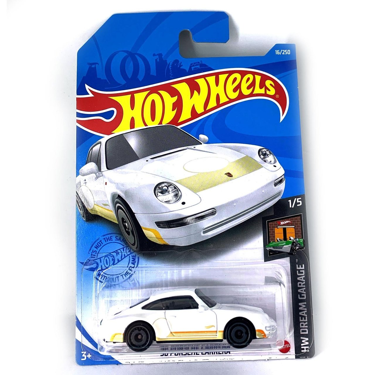 Carrinho Hot Wheels '96 Porsche Carrera HW Dream Garage - Mattel