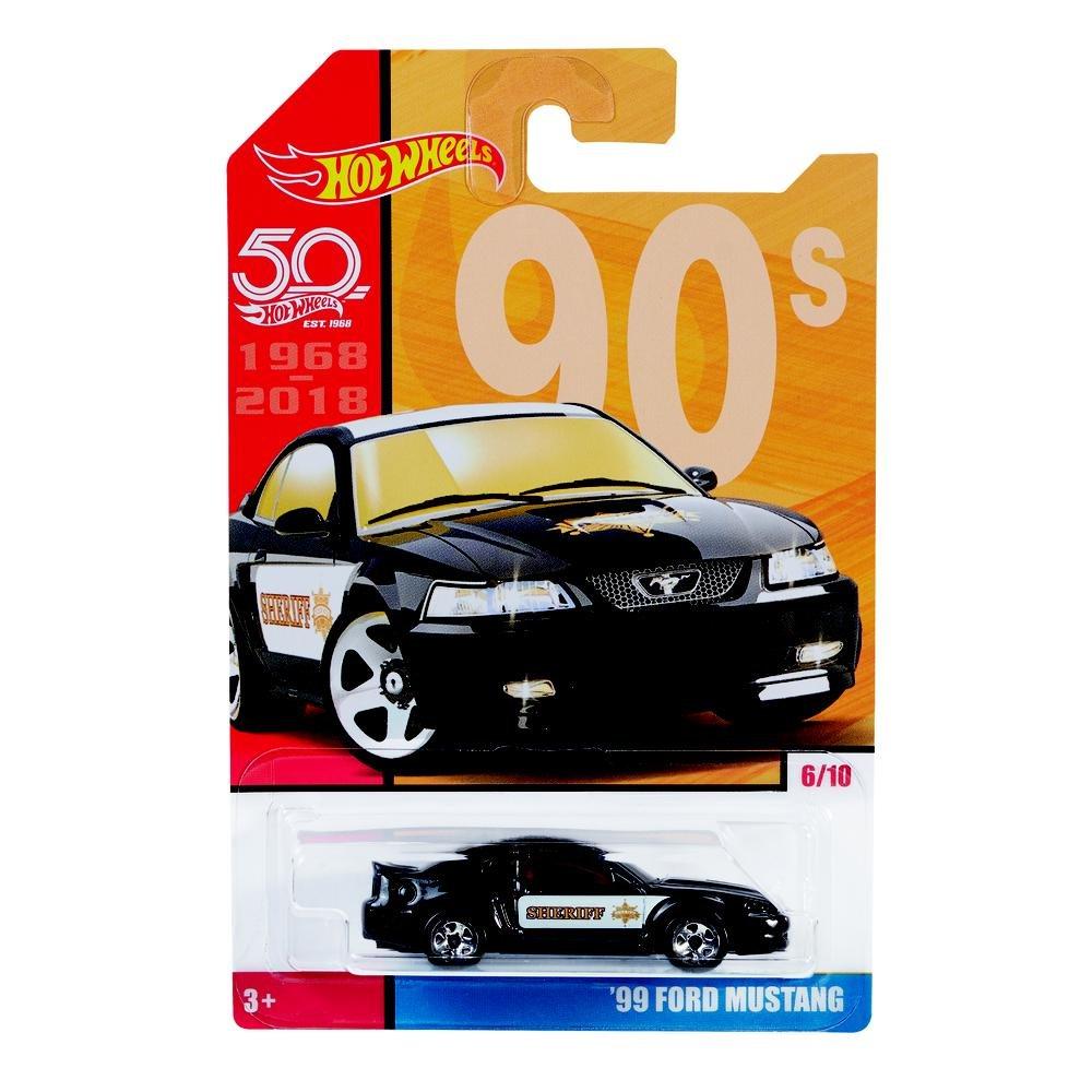 Carrinho Hot Wheels: `99 Ford Mustang - Mattel