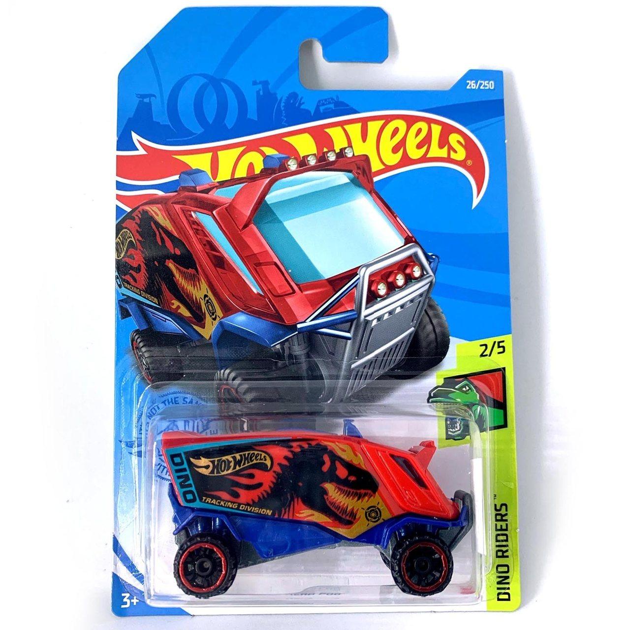 Carrinho Hot Wheels Aero Pod  Dino Riders - Mattel