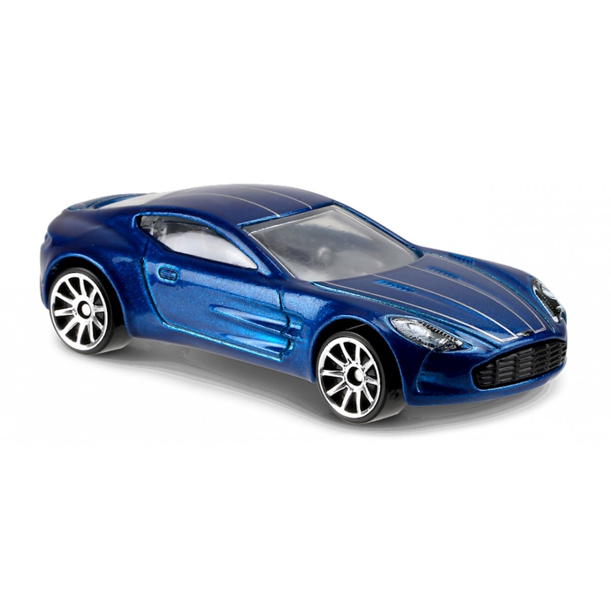 Carrinho Hot Wheels: Aston Martin One-77 Azul