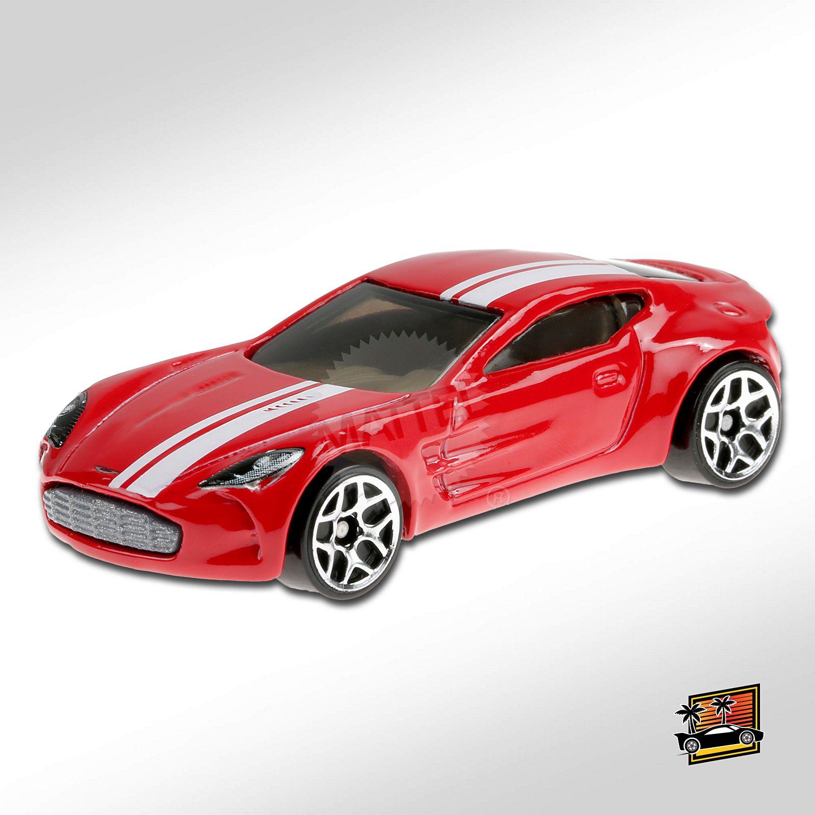 Carrinho Hot Wheels: Aston Martin One-77 (OFGUJ) Hw Exotics - Mattel