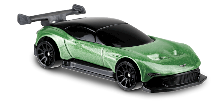 Carrinho Hot Wheels: Aston Martin Vulcan (MIF6W) - Mattel