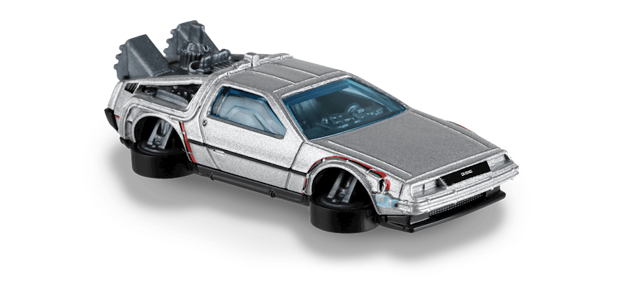 Carrinho Hot Wheels Back to the Future Time Machine - Hover Mode (E8M8U) - Mattel