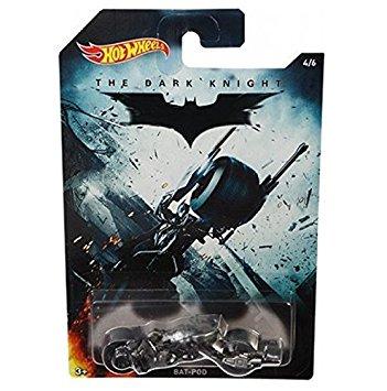 Carrinho Hot Wheels: BAT-POD: Batman: O Cavaleiro das Trevas