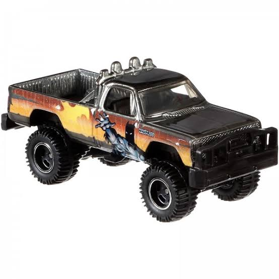 Carrinho Hot Wheels: Batman 1980 Dodge Macho Power Wagon (DLB45) - Mattel