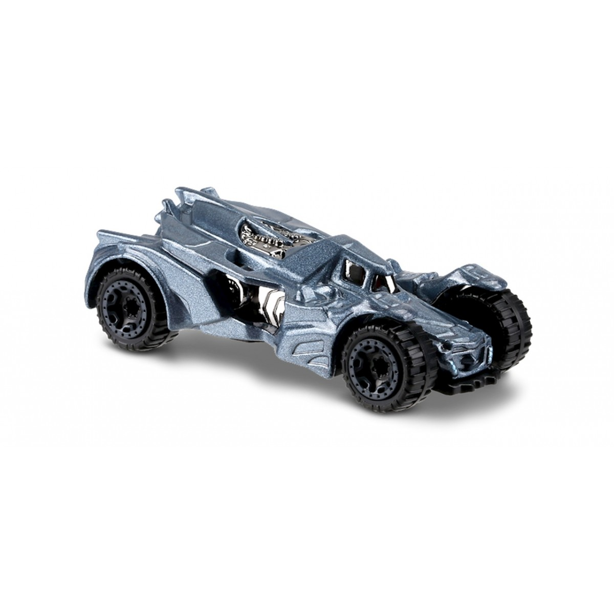 Carrinho Hot Wheels: Batman: Arkham Knight Batmobile Prateado