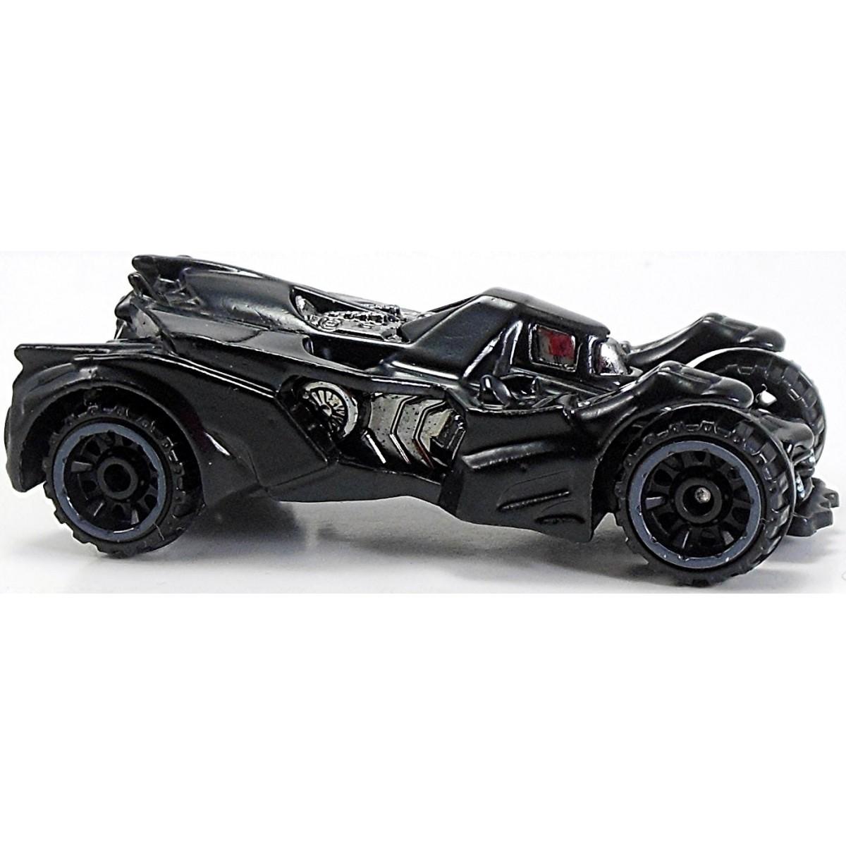 Carrinho Hot Wheels: Batman: Arkham Knight Batmobile Preto