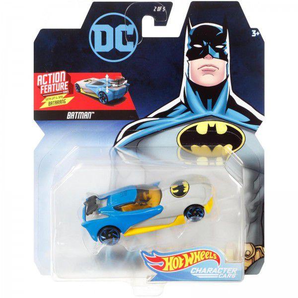 Carrinho Hot Wheels Batman: DC Comics - Mattel