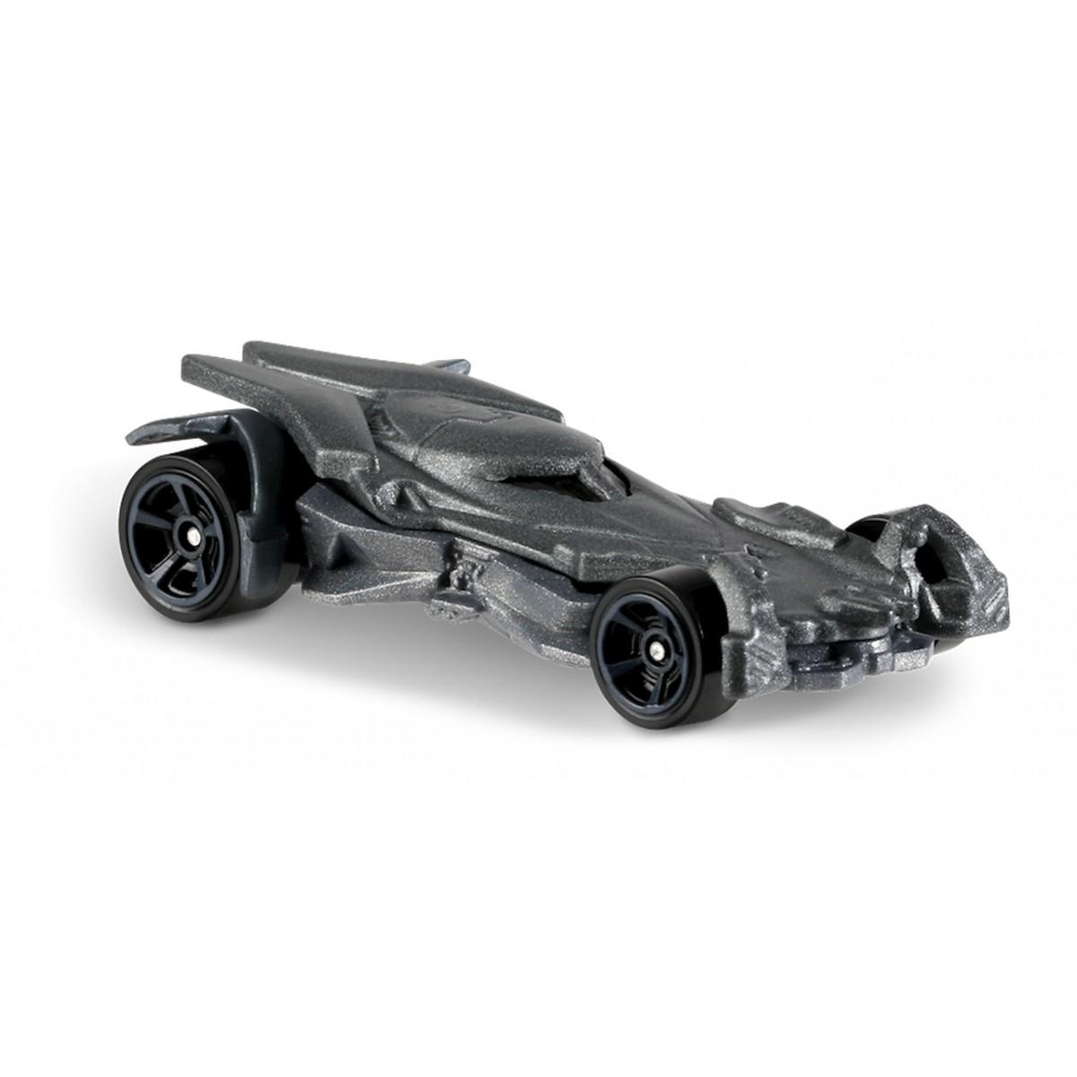 Carrinho Hot Wheels: Batmobile: Batman 2017 Prateado