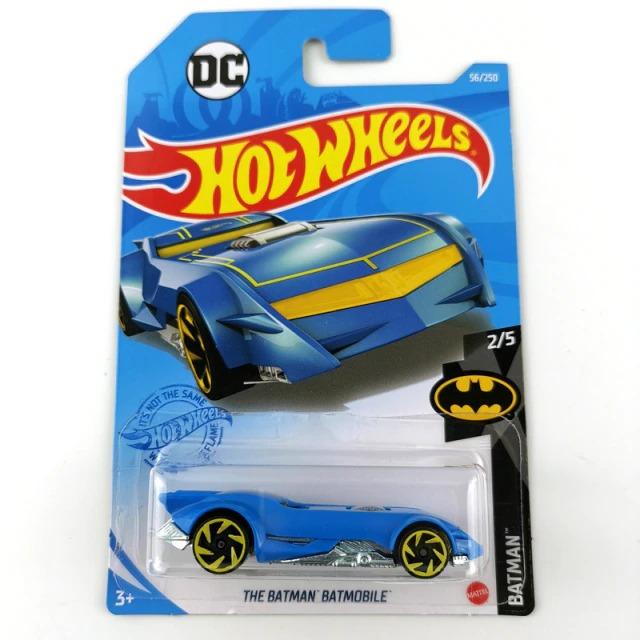 Carrinho Hot Wheels Batmobile Batmóvel Azul The Batman 2004 DC Comics - Mattel  - MKP