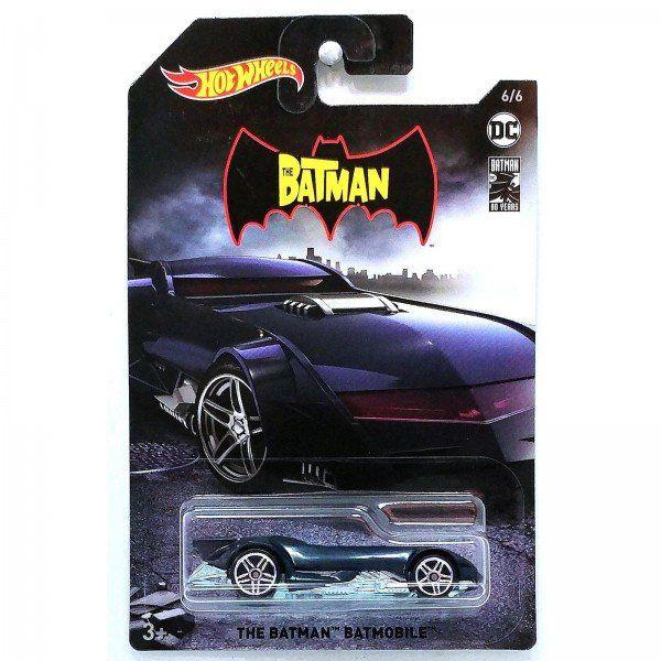 Carrinho Hot Wheels Batmóvel (Batmobile): Batman (FYX94) - Mattel