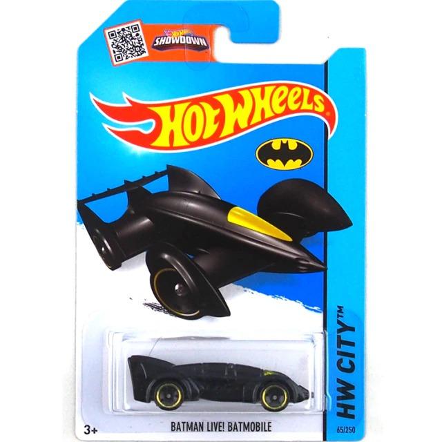 Carrinho Hot Wheels Batmóvel Batmobile Batman Live DC Comics - Mattel - MKP