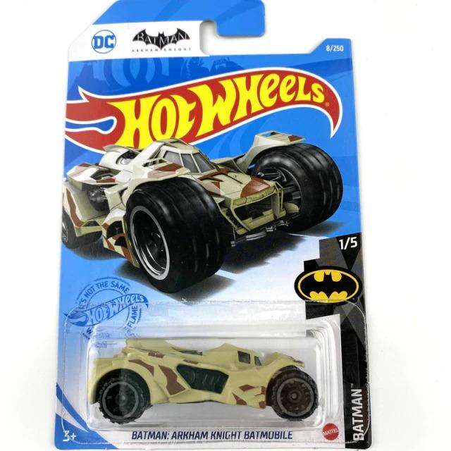 Carrinho Hot Wheels Batmóvel Batmobile Camuflado Batman Arkham Knight DC Comics - Mattel - MKP