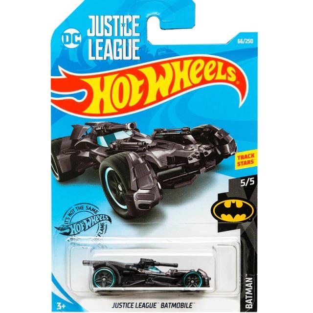 Carrinho Hot Wheels Batmóvel Batmobile Liga Da Justica Zack Snyder Batman DC Comics - Mattel - MKP