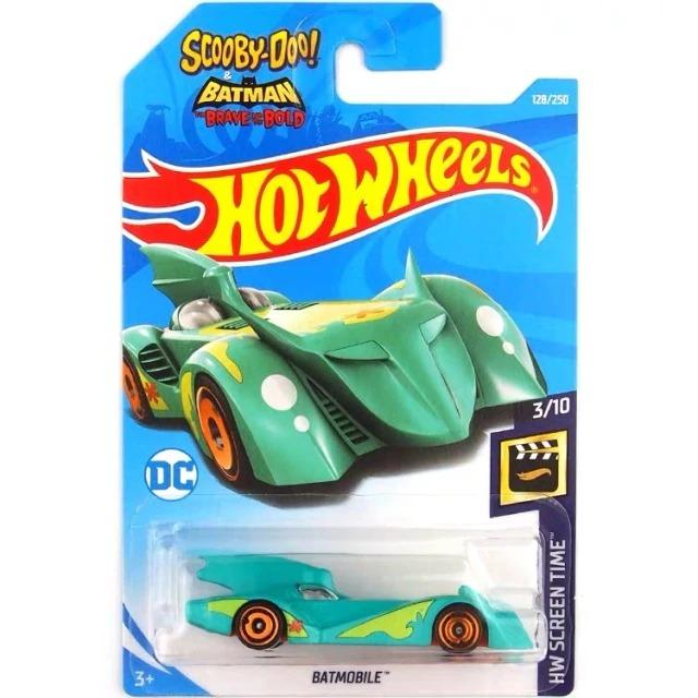 Carrinho Hot Wheels Batmóvel Batmobile Maquina Mistério Batman Bravos e Destemidos e Scooby Doo DC Comics - Mattel - MKP