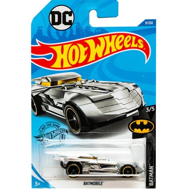 Carrinho Hot Wheels Batmóvel Batmobile Prata Batman a Serie Animada 1992 DC Comics - Mattel