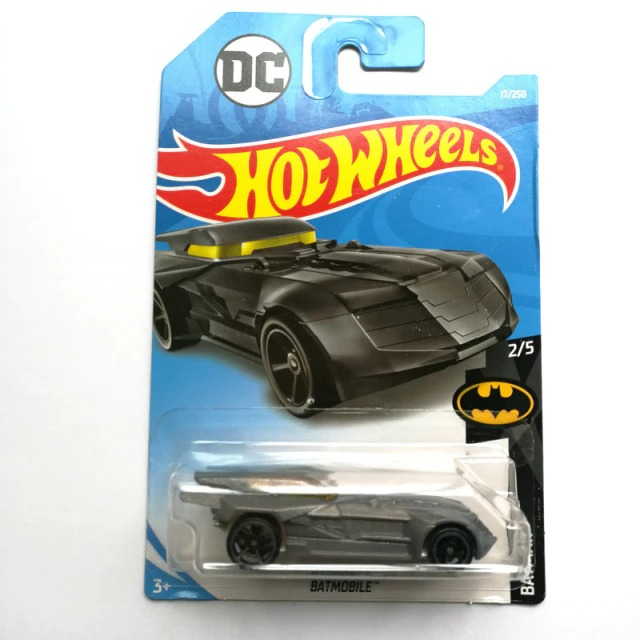 Carrinho Hot Wheels Batmóvel Batmobile Preto Batman A Serie Animada 1992 DC Comics - Mattel
