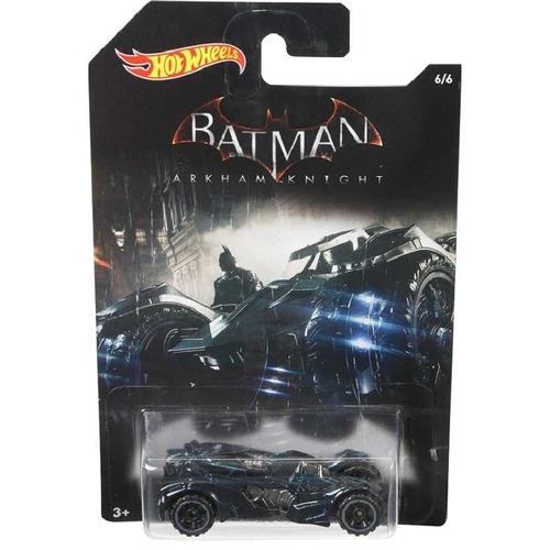 Carrinho Hot Wheels Batmóvel Batmobile Preto Batman Arkham Knight DC Comics - Mattel