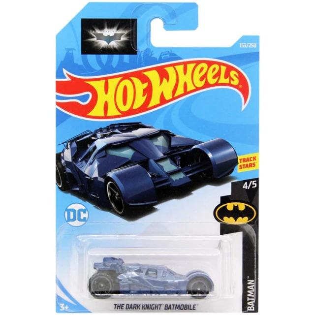 Carrinho Hot Wheels Batmóvel Batmobile Tumbler Azul Batman The Dark Knight DC Comics - Mattel - MKP