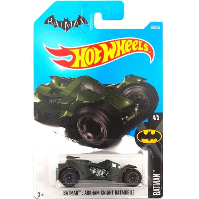 Carrinho Hot Wheels Batmóvel Batmobile Verde Batman Arkham Knight DC Comics - Mattel - MKP