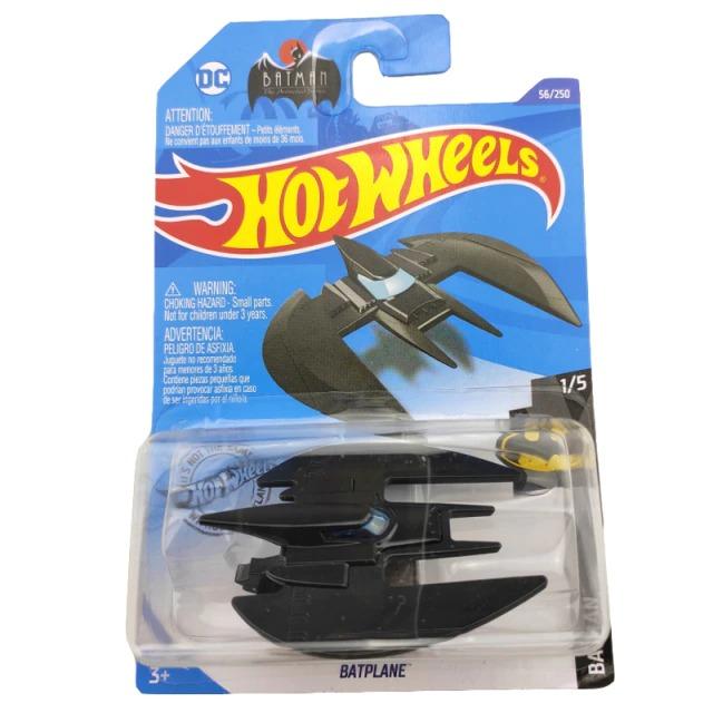 Carrinho Hot Wheels Batplane Batwing Preto Batman DC Comics - Mattel - MKP
