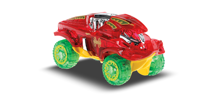 Carrinho Hot Wheels Beat All (RMSGQ) X-Raycers - Mattel