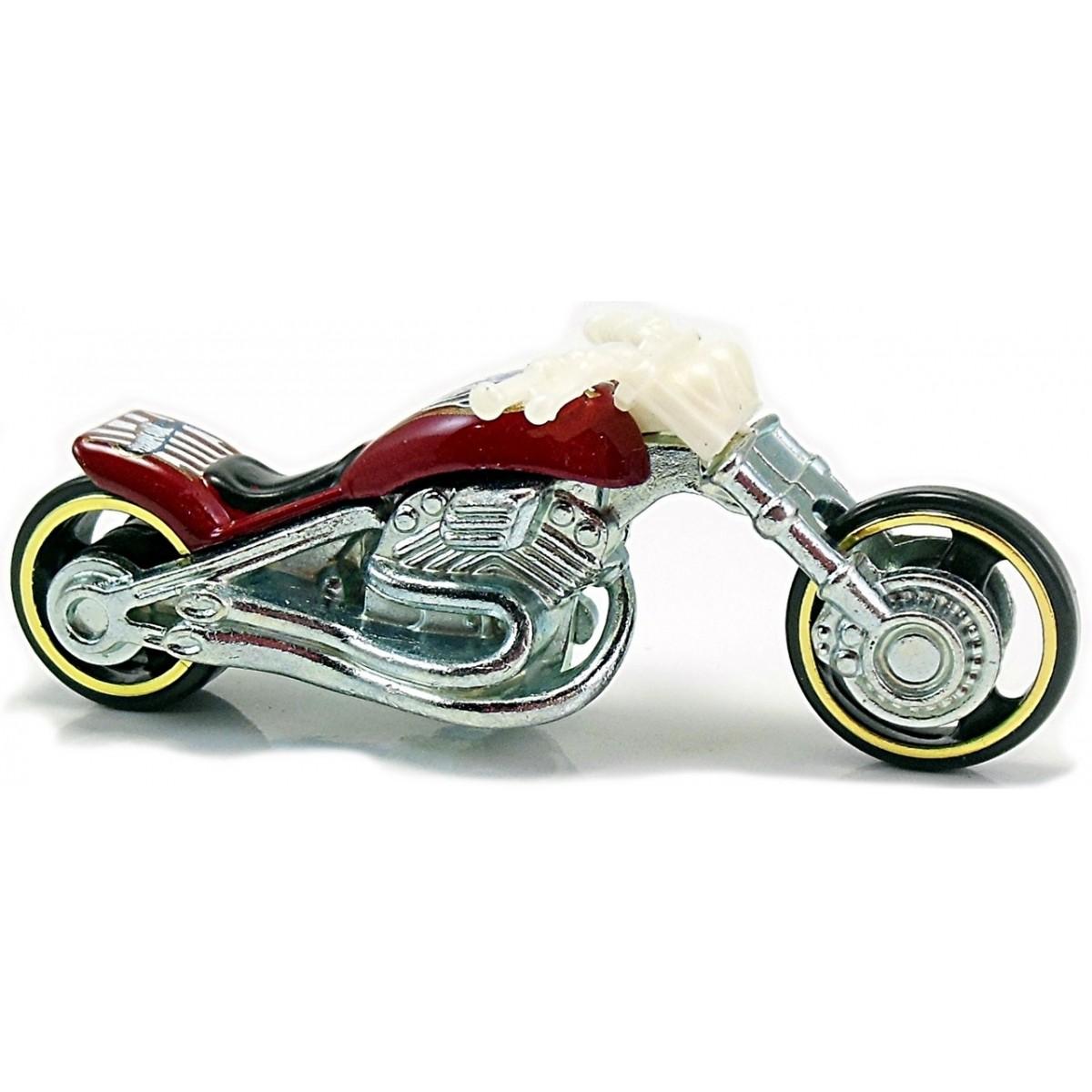 Carrinho Hot Wheels: Blast Lane (Moto) Vermelho