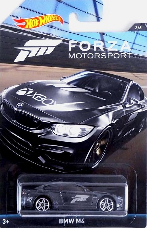 Carrinho Hot Wheels: BMW M4: Forza Motorsport Preto