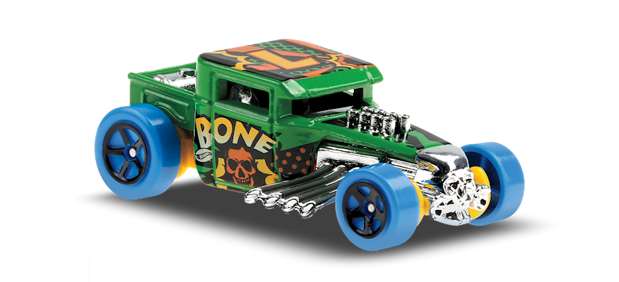 Carrinho Hot Wheels Bone Shaker (3NUEC) HW Art Cars