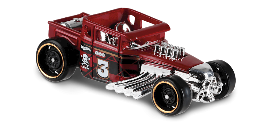Carrinho Hot Wheels Bone Shaker (5WI8P) - Mattel