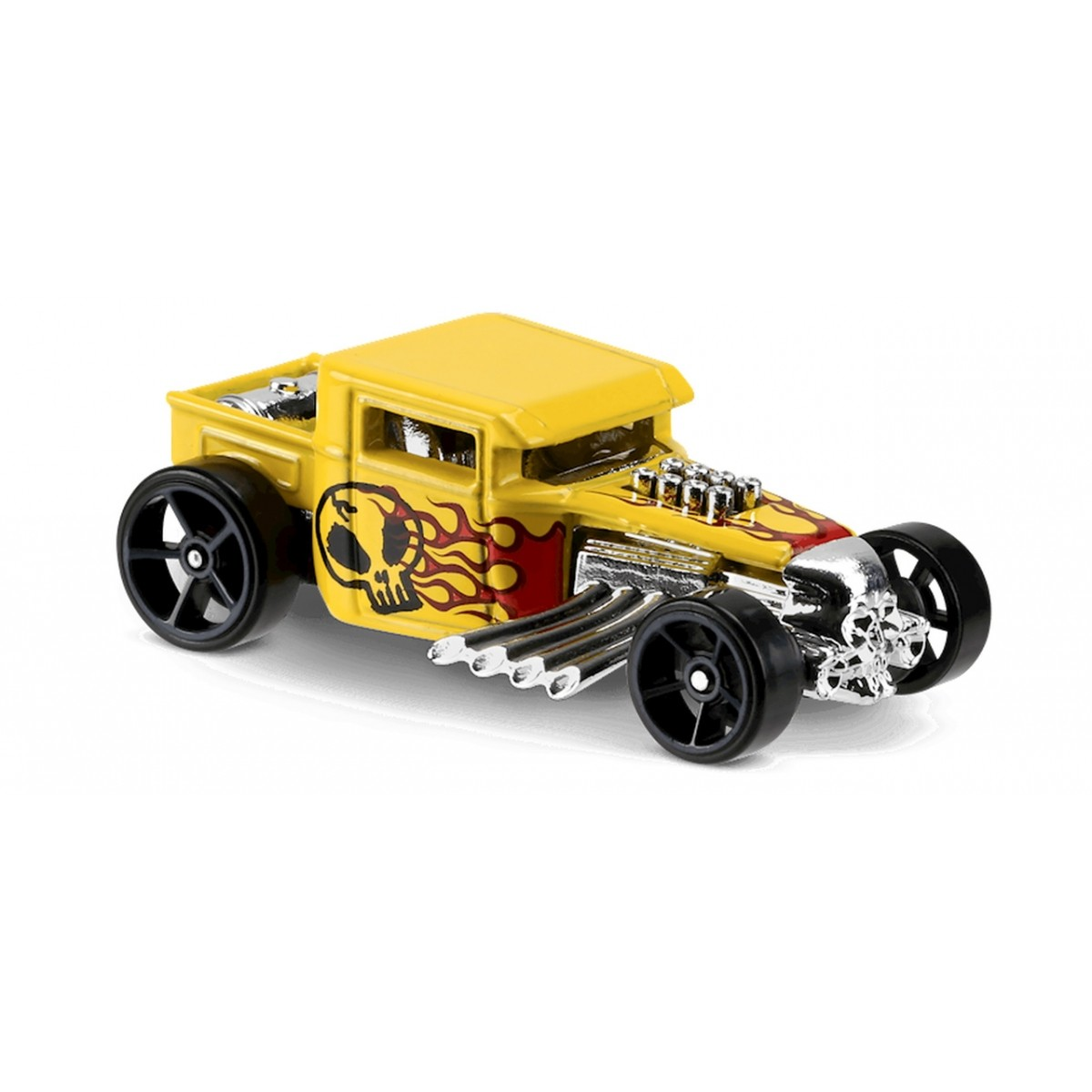 Carrinho Hot Wheels: Bone Shaker Amarelo