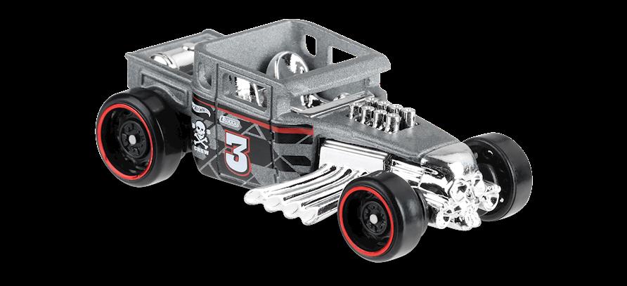 Carrinho Hot Wheels Bone Shaker (R1LR2) - Mattel