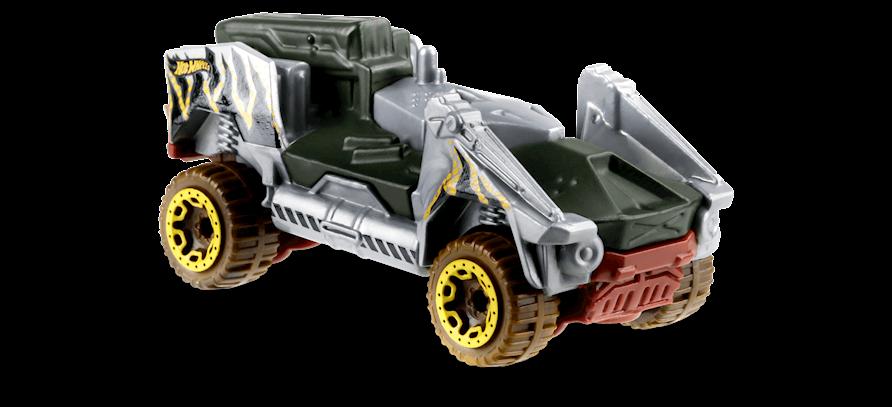 Carrinho Hot Wheels Bot Wheels (X77OH) - Mattel