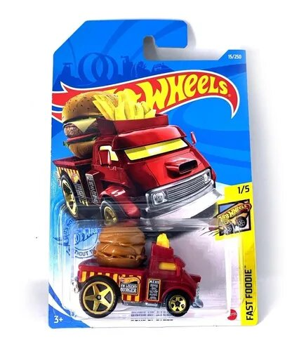 Carrinho Hot Wheels Buns Of Steel Fast Foodie - Mattel