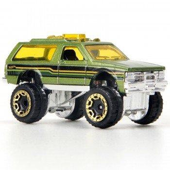 Carrinho Hot Wheels: Chevy Blazer 4X4 Verde - Mattel