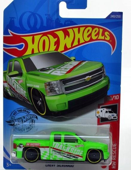 Carrinho Hot Wheels Chevy Silverado (0877Z) HW Rescue - Mattel