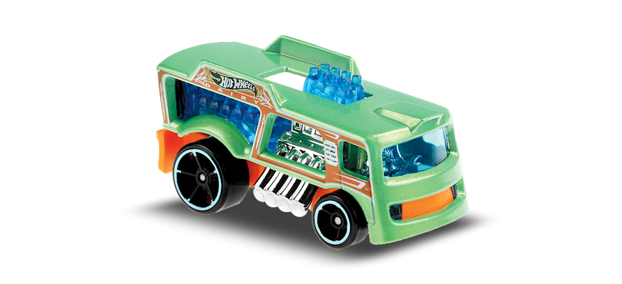 Carrinho Hot Wheels: Chill Mill - ( Fast Foodie ) - Y1IB3
