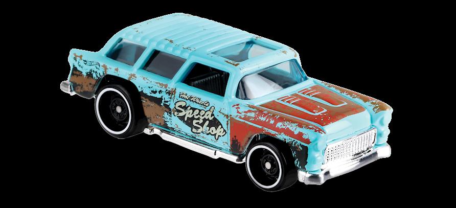 Carrinho Hot Wheels Classic '55 Nomad (5JIZK) - Mattel