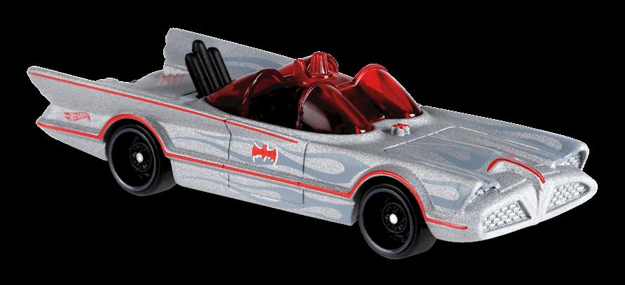 Carrinho Hot Wheels Classic TV Series Batmobile (ZTBR9) - Mattel