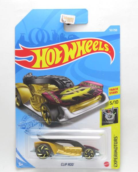 Carrinho Hot Wheels: Clip Rod Experimotors - Mattel