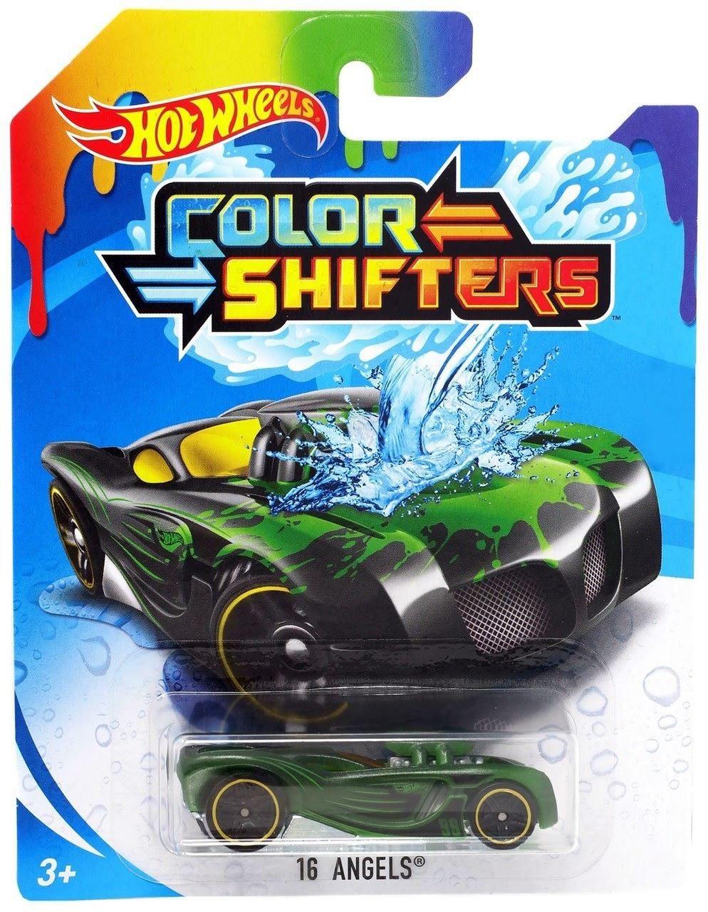 Carrinho Hot Wheels Colour Shifters: 16 Angels - Mattel