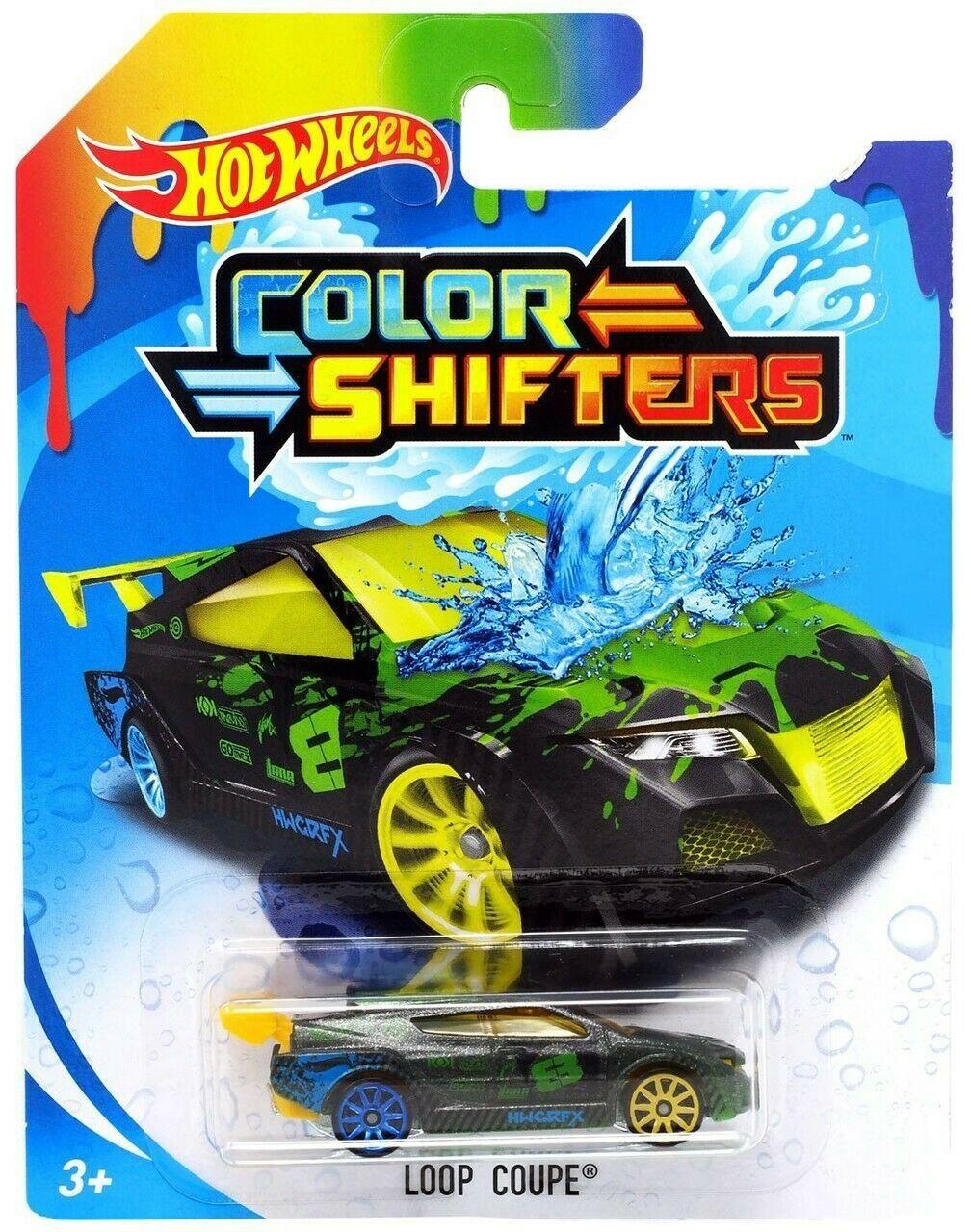 Carrinho Hot Wheels Colour Shifters: Loop Coupe - Mattel
