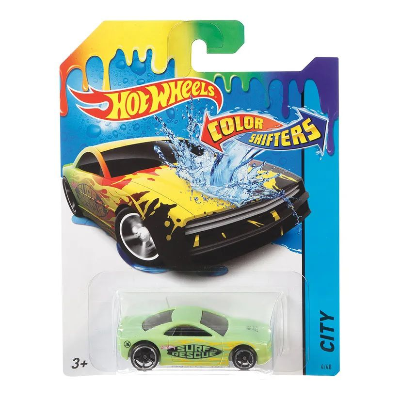 Carrinho Hot Wheels Colour Shifters: Muscle Tone - Mattel