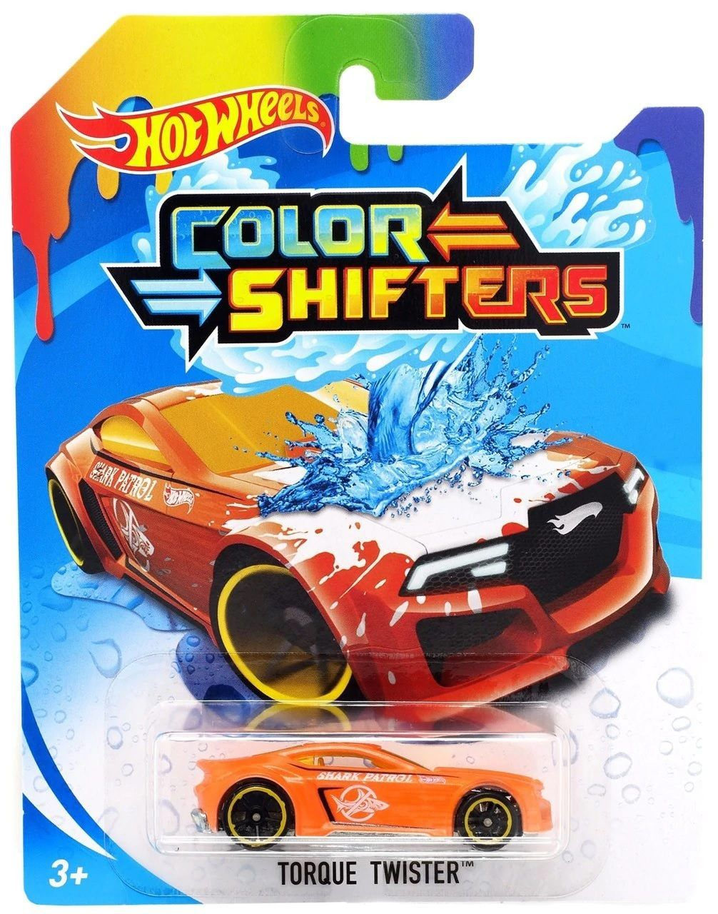 Carrinho Hot Wheels Colour Shifters: Torque Twister - Mattel