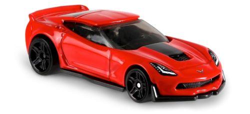 Carrinho Hot Wheels: Corvette C7 Z06 Vermelho