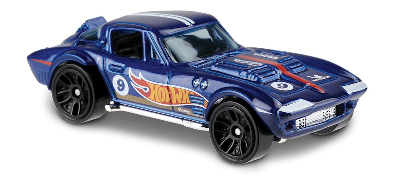 Carrinho Hot Wheels Corvette Grand Sport (1F8EM) - Mattel