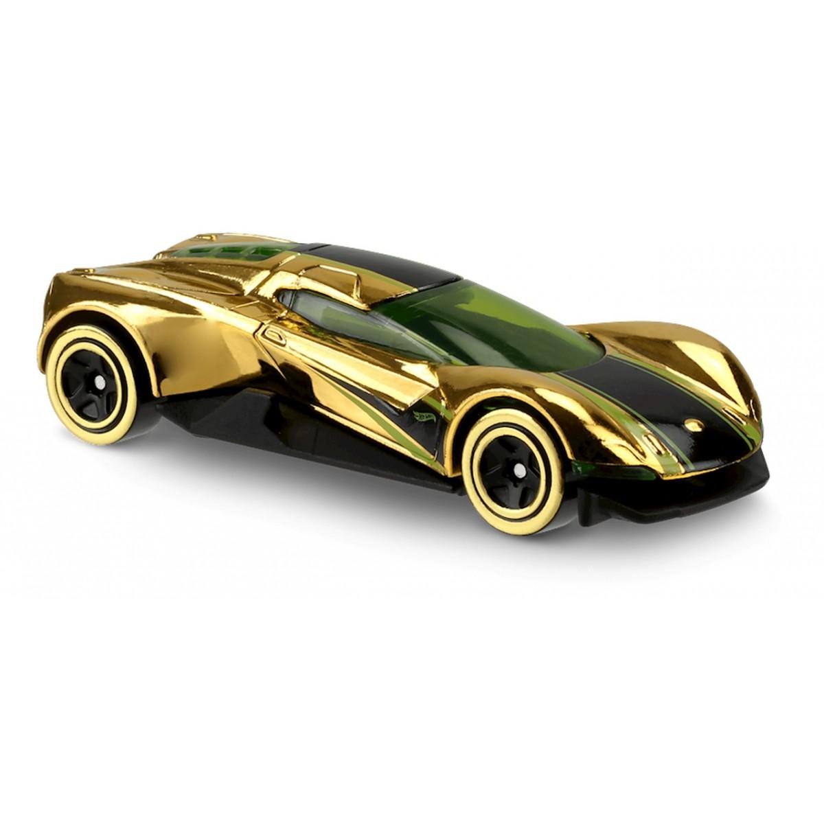 Carrinho Hot Wheels: Crescendo Dourado