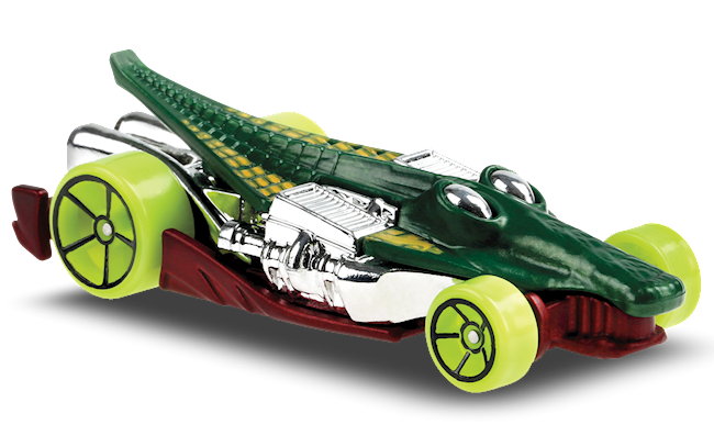 Carrinho Hot Wheels Croc Rod (YIVY0) Street Beasts - Mattel