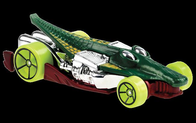 Carrinho Hot Wheels Croc Rod (YIVY0) Street Beasts - Mattel
